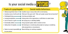Is your social media a psychopath